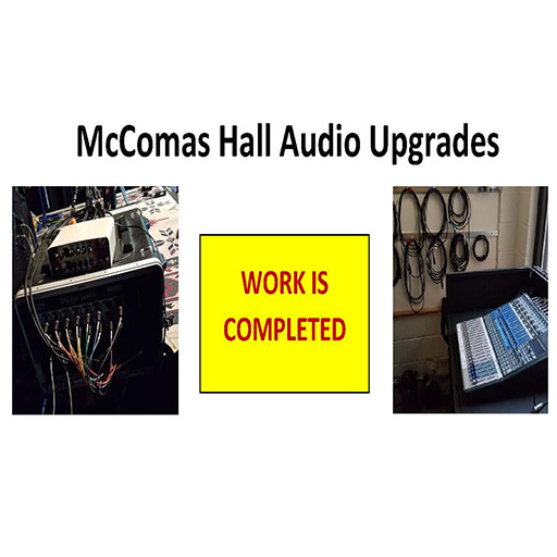 McComas AV Upgrade