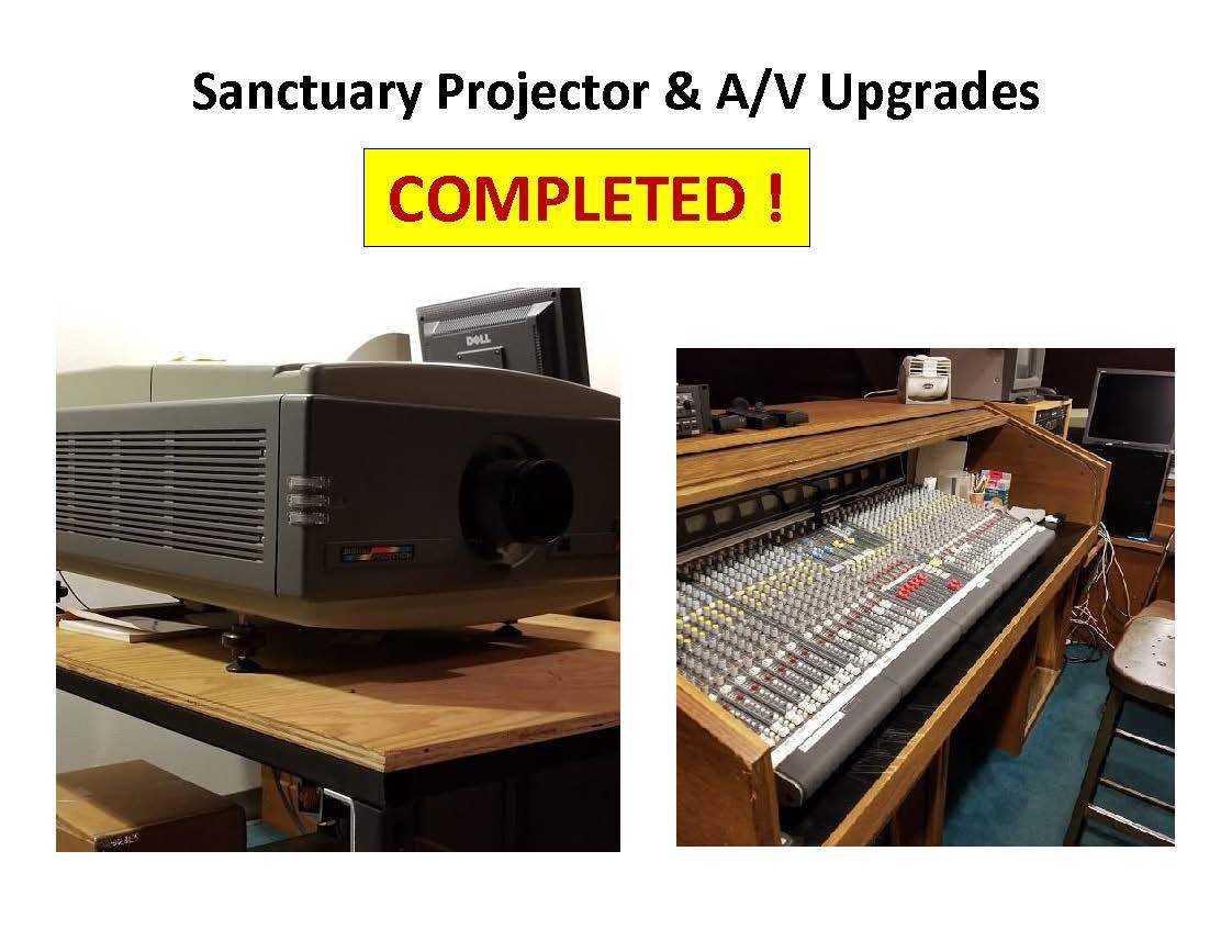 Sanctuary Projector