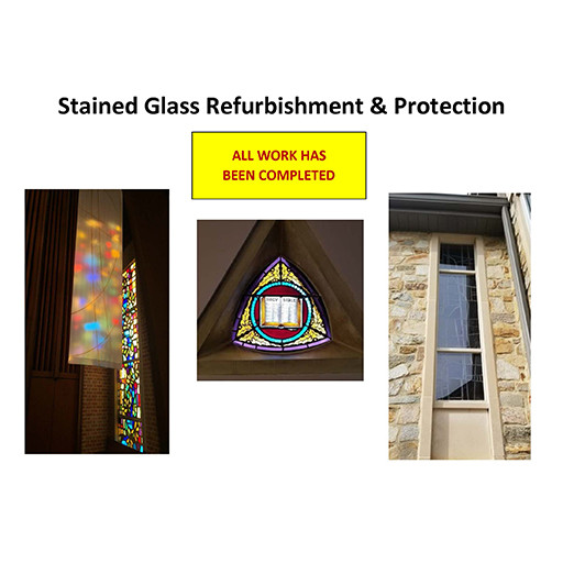 Stained Glass Refurb